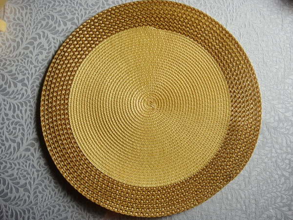 PP ROUND PLACEMAT PPR-0009