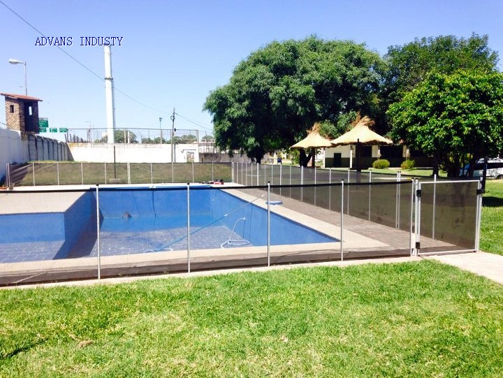 Swimming pool safety fence PVC Coated Mesh Fabric